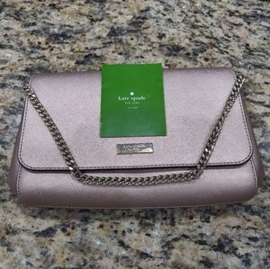 Kate Spade Rose Gold / Blush purse